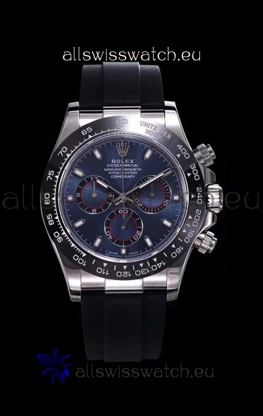 Rolex Daytona 116509 White Gold Original Cal.4130 Movement - 1:1 Mirror 904L Steel Watch