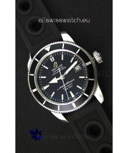 Breitling SuperOcean Heritage II B20 42MM Black Dial Black Bezel Swiss Replica Watch - 1:1 Mirror Edition