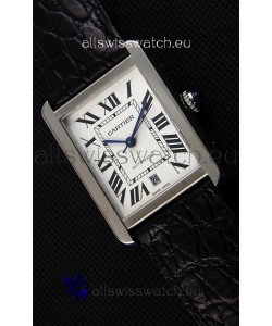 Cartier Tank Solo Swiss Automatic Watch in Steel Strap 31MM Wide