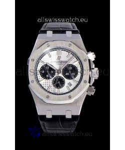 Audemars Piguet Royal Oak Chronograph White Dial 904L Steel 1:1 Mirror Replica