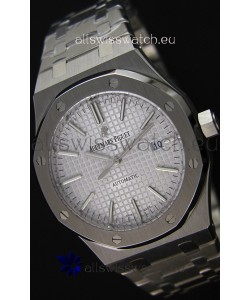 Audemars Piguet Royal Oak 41MM Silver Dial Steel Strap - 1:1 Mirror Ultimate Edition