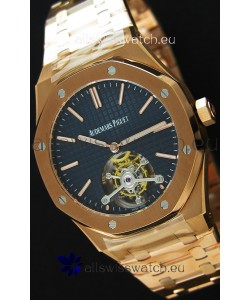 Audemars Piguet Royal Oak Tourbillon 41mm Extra-Thin Dark Blue Dial Watch