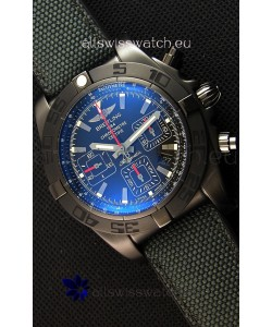 Breitling Chronomat 44 Blacksteel Swiss Replica DLC Coating 1:1 Mirror Watch