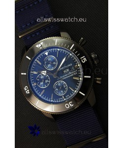 Breitling Superocean Heritage II Outerknown Blacksteel NATO Strap 1:1 Mirror Replica Watch