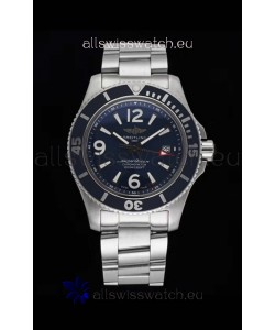 Breitling Superocean Automatic 44 Steel - Navy Blue Dial 1:1 Mirror Replica
