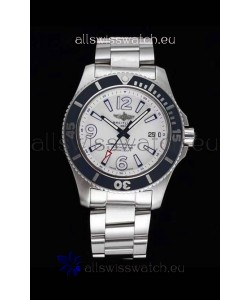 Breitling Superocean Automatic 44 Steel - White Dial 1:1 Mirror Replica
