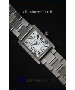 Cartier Tank Solo Swiss Quartz Watch in Steel Strap 28MM Wide