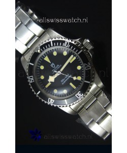 Tudor Oyster Prince Vintage 200M Black Dial Dot Markers Swiss 1:1 Mirror Replica Watch