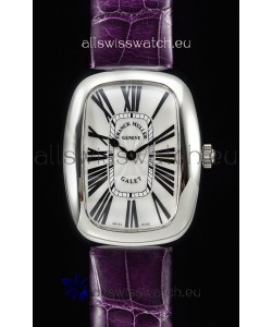 Franck Muller Galet Ladies Swiss Quartz Purple Strap Watch