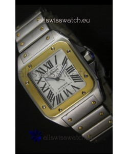 Cartier Santos 100 Swiss Watch 38.5MM - 1:1 Mirror Ultimate Replica