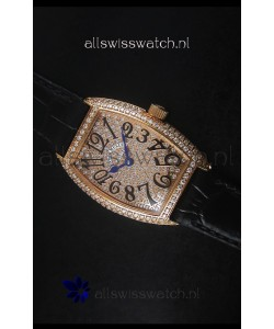 Franck Muller Master of Complications Ladies Watch in Rose Gold Case