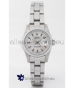 Rolex DateJust - Silver Lady's Swiss Replica Watch
