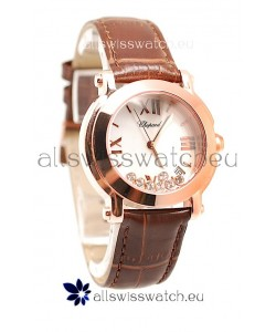 Chopard Happy Sport Swiss Ladies Watch in White Dial