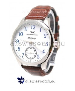 IWC Portugese Automatic Watch in Blue Markers