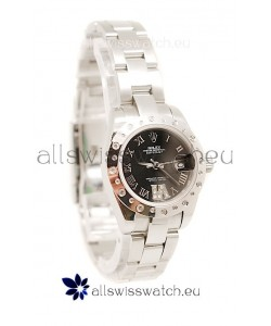 Rolex Datejust Ladies Silver Swiss Replica Watch