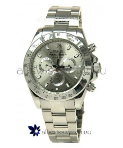 Rolex Daytona Silver Japanese Replica Watch