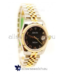 Rolex DateJust Mid-Sized Two Tone Japanese Replica Watch