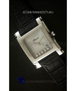 Chopard Happy Sport Swiss Replica Watch in White Dial