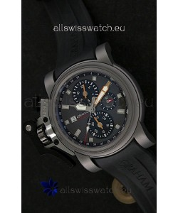 Graham Chronofighter Swiss Replica Watch in Grey Dial