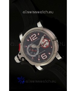 Graham Chronofighter Swiss Replica Watch in Black Dial