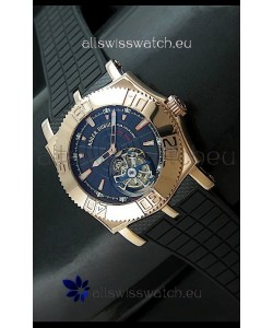 Roger Dubuis Tourbillon ExcaliburSwiss Watch in Blue Dial