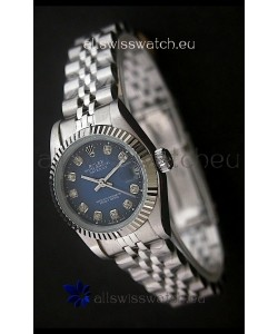 RolexDatejust Oyster Perpetual Superlative ChronoMeter Japanese Watch in Blue Dial