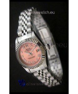 RolexDatejust Oyster Perpetual Superlative ChronoMeter Japanese Watch in Orange Dial
