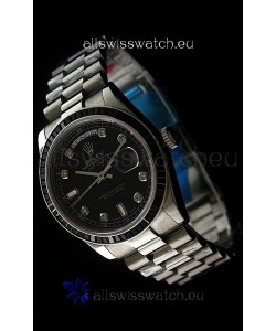 Rolex Day Date 2008 Japanese Replica Watch in Diamond Markers