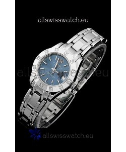 Rolex Datejust Ladies Swiss Replica Ladies Watch in Light Blue Dial