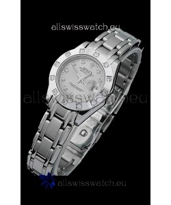 Rolex Datejust Ladies Swiss Replica Ladies Watch in Grey Dial
