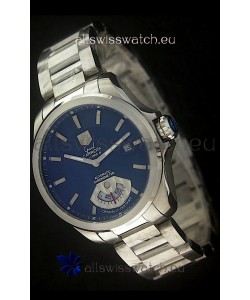 Tag Heuer Grand Carrera Calibre Swiss Automatic Watch in Blue Dial