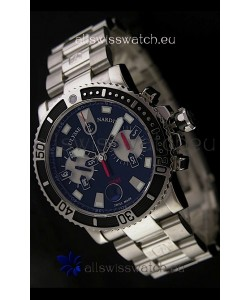 Ulysse Nardin Maxi Marine Swiss Watch in Black Dial