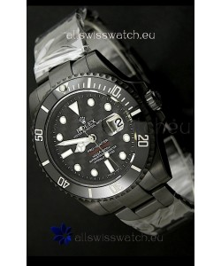 Rolex Pro Hunter Submariner Swiss Replica PVD Watch in Carbon Dial