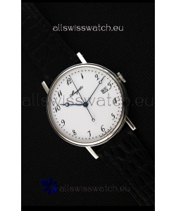 Breguet Classique 5177BB/29/9V6 Stainless Steel Watch with Roman Hour Markers