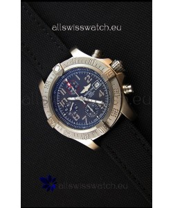 Breitling Avenger Titanium Case Swiss Replica Watch Black Dial 1:1 Mirror Replica Watch