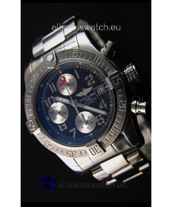 Breitling Skyland Avenger Chronograph Swiss Replica Watch Dark Grey Dial 1:1 Mirror Replica