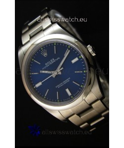 Rolex Oyster Perpetual Cal.3132 Movement Swiss Blue Dial Oyster Strap - Ultimate 904L Steel Watch