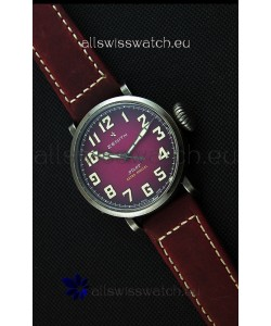 Zenith Pilot Type 20 Extra Special Purple Dial Swiss Replica Watch 40MM