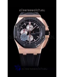 Audemars Piguet Royal Oak Offshore 44MM Pink Gold 1:1 Mirror 904L Steel Watch