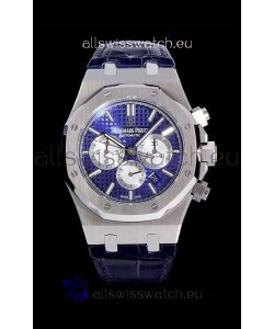 Audemars Piguet Royal Oak Chronograph Blue Dial 904L Steel 1:1 Mirror Replica