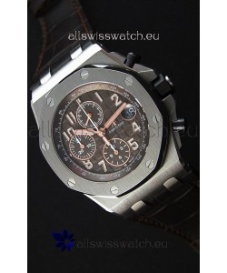 Audemars Piguet Royal Oak Offshore Brown Dial Chronograph 1:1 Mirror Replica Watch