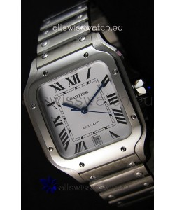 Cartier Santos De Cartier 1:1 Mirror Replica - 40MM Stainless Steel Watch