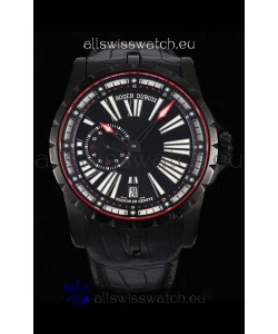 Roger Dubuis Excalibur DLC Coated Casing 1:1 Mirror Swiss Replica Watch