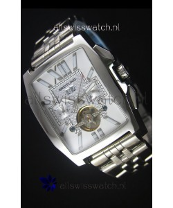 Breitling For Bentley Flying B Japanese Chronograph Watch in White Dial