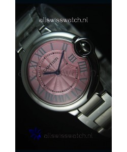 Ballon De Bleu Pink Dial Watch 36MM with Swiss Quartz Movement