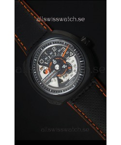 SevenFriday V02-01 Miyota 82S7 Movement 1:1 Edition Carbon Dial