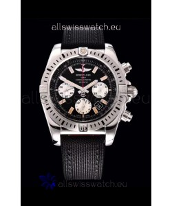 Breitling Chronomat Airbone 1:1 Mirror Replica Watch in Black Dial