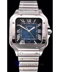 Cartier Santos De Cartier XL 1:1 Mirror Replica - 40MM Stainless Steel Watch
