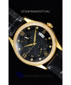 Jaeger LeCoultre Master Control Yellow Gold Swiss Replica Watch