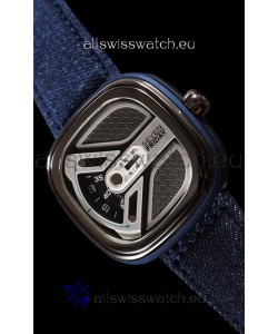 Seven Friday M1B/01M Urban Explorer with Original Miyota Movement - 1:1 Mirror Quality